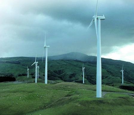 Windfarm faded