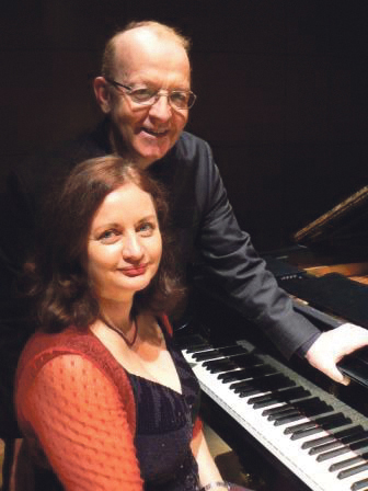 Christine, left, and David Griffiths.