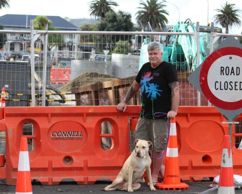 Whaingaroa Harbour Care stalwart and Waikato Regional councillor Fred Lichtwark believes this non-compliant work adds to a list of environmental breaches by WDC.