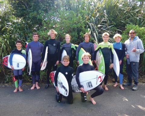 Waikato Scholastic team 2018. Image: Kaz Willoughby.