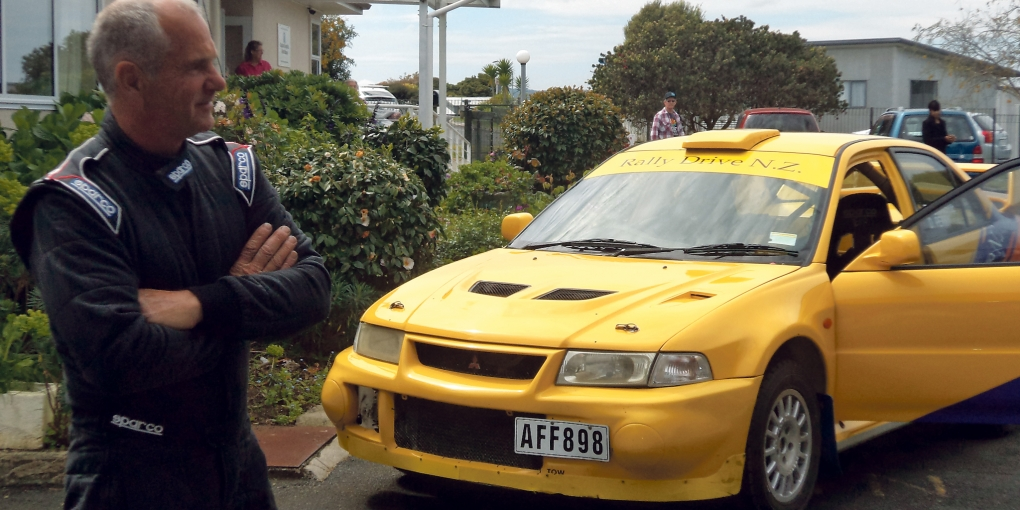 Rally driver and former local, Dale Perry, visited the Raglan Hopsital during his time in Raglan competing in the final round of the New Zealand Rally Championship.